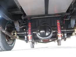 car rear suspension 1955 chevy gasser