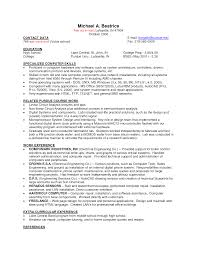 cover letter a resume sample for job a sample resume for a job a