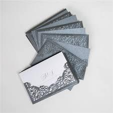 faire part mariage chic faire part mariage chic et sa pochette mariage couleur gris