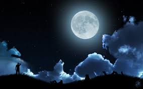 moon clouds and by 9filip3 on deviantart