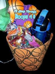 basketball gift basket basketball gift idea for him gift cheer and