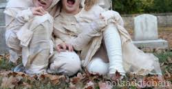 Kids Mummy Halloween Costume Homemade Mummy Costumes Allfreesewing