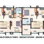 Row Houses Floor Plans Row House Plans India Housing Floor Plan Architecture Plans 13736