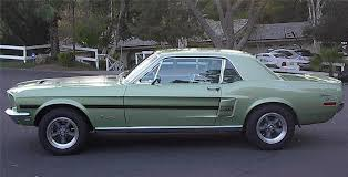 mustang gt cs 1968 ford mustang gt cs coupe 91103