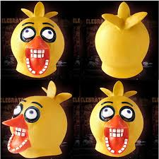 x merry chicken full head latex mask freddy u0027s halloween cosplay