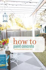 How To Clean Patio Flags Best 25 Concrete Patio Paint Ideas On Pinterest Painted