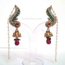 ear cuffs online ear cuff green marron ear cuffs online hayagi