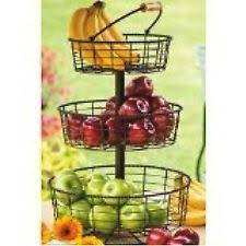 fruit basket stand 3 tier fruit basket ebay
