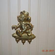 key holder wall mickey mouse brass key holder wall mount for sale justdisney