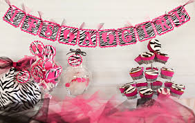 zebra baby shower justbeccuz hot pink zebra baby shower