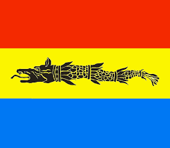 Flag Romania Dacian Draco Dacian Wolf With The Romanian Flag By