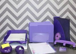 Purple Desk Organizers Desk Awesome Office Decor Accessories Purple Office Decor