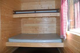 Single Bunk Beds Picture Of Manzanita Lake Camping Cabins - Queen single bunk bed
