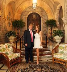 is trump at mar a lago photos building mar a lago history of trump s winter white