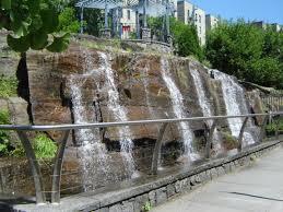 rock garden park spray showers nyc parks