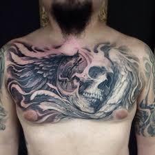 387 best chest piece tattoos images on pinterest chest piece