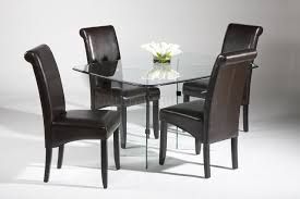 sleek modern dining room sets by modern dining room chairs