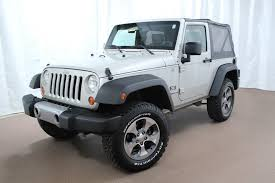 used 4 door jeep rubicon 2007 jeep wrangler x for sale at noland used colorado springs