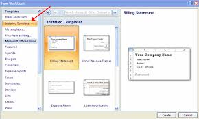 How To Create Spreadsheets In Excel Working With The Workbook In Excel 2007
