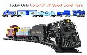 lionel sets up to 45 today only includes polar