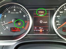 tire light on car audi how to check tire pressure audiworld