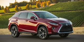 lexus rx or honda pilot 2017 lexus rx vehicles on display chicago auto show