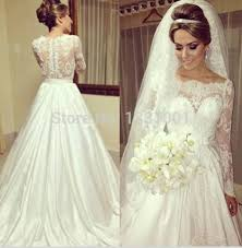 Wedding Dresses Online Shop Wedding Dress With Sleeves Picture More Detailed Picture About