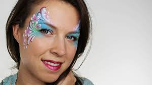 flower fiary face paint tutorial