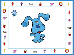 blue clues free printable frames invitations or images is it