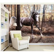 unicorn pattern design image wall decor wallpaper mural decorative see larger image