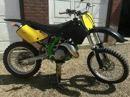 evo motocross bikes 1994 kawasaki kx 250 2 stroke super evo motocross kx250 125 cr