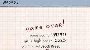doodle jump free no highest score in doodle jump world record j k
