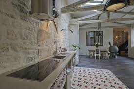 parement cuisine design interieur cuisine style industriel parement mural