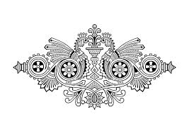 engraving ornament royalty free stock photography image 4388317