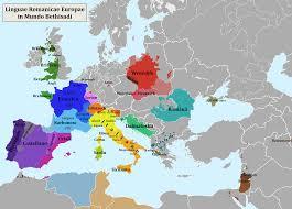 Europe Language Map by Ib