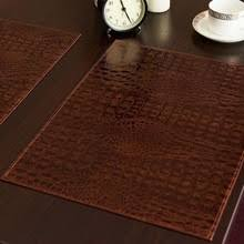 Leather Placemats For Conference Table Buy Leather Table Mats And Get Free Shipping On Aliexpress