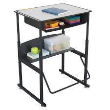 Student Desks For Classroom by Alphabetter Adjustable Height Stand Up Desk 28 X 20 U201d Premium Top