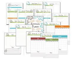 homeschool planner classroom organizer lesson planner