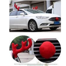 reindeer ears for car element reindeer antlers nose car vehicle costume christmas