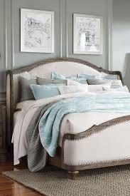 Upholstered Bedroom Sets Standard Furniture Parliament Queen Upholstered Camelback Wing Bed