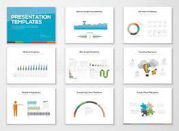Presentation Slide Templates And Business Vector Brochures Stock Slide Templates