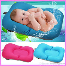 2018 newborn baby bathtub pillow pad lounger air cushion floating