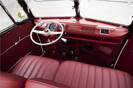 Old Beetle Interior The 10 Most Expensive Vws At Barrett Jackson Vwvortex