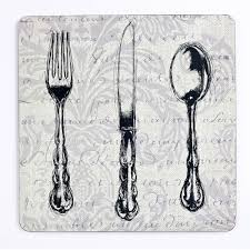 inspire bch249296 luxury vintage cutlery placemats 29 x 29cm