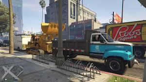 Dodge 3500 Dump Truck With Plow - con ed dump truck gta5 mods com