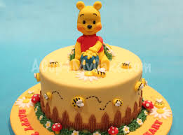winnie the pooh cake topper img baby winnie the pooh cake toppers sponge for decorating