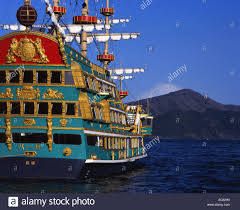 lake ashi pirate ship stock photos u0026 lake ashi pirate ship stock