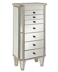 Tall Armoire Furniture Furniture Antique Tall Wall Mirrored Jewelry Armoire Design For