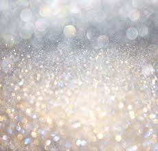 Gray And Gold White Silver And Gold Abstract Bokeh Lights Defocused Background