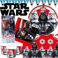 Star Wars Birthday Decorations Star Wars Party Supplies Ebay